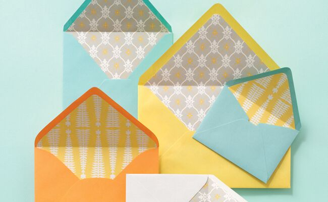 how to make your own wedding invitation envelopes