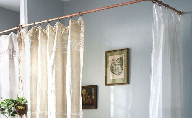 Add Warmth At Home With Diy Copper Curtain Rods