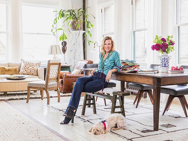 Home Tour: Textiles Designer Katie Leede's Sophisticated SoHo Home
