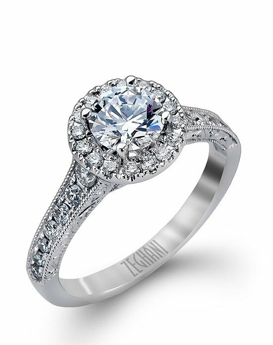 Zeghani ZR939 Engagement Ring photo