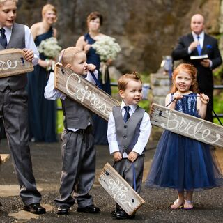Real DIY Wedding Signs