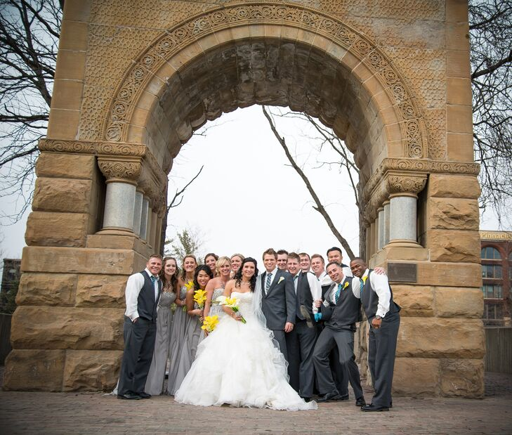 Outdoor Wedding Ceremony Omaha Ne: A Classic, Traditional Wedding At The Tiburon Golf Club In