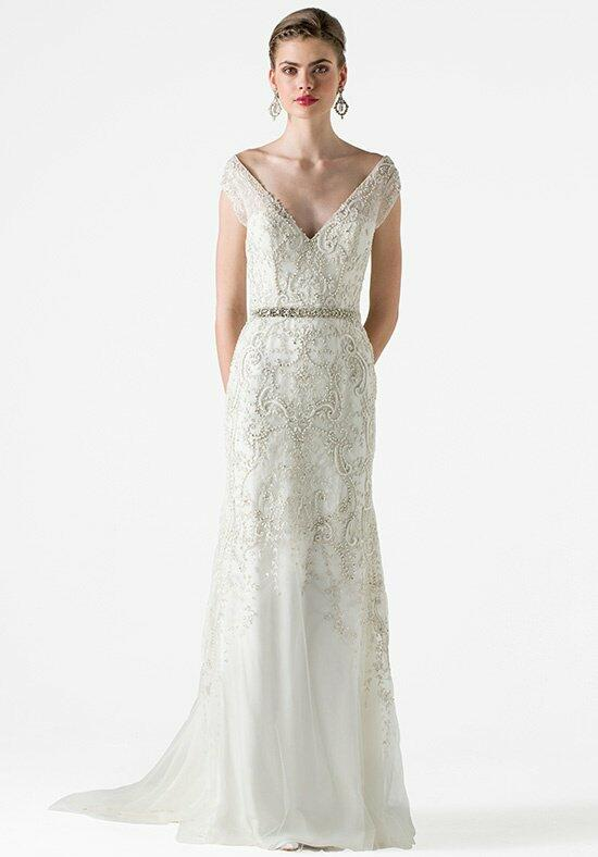 Black Label Anne Barge Garland Wedding Dress photo