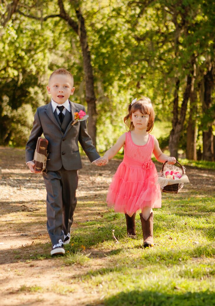 Ceremonial Ring Bearer and Flower Girl