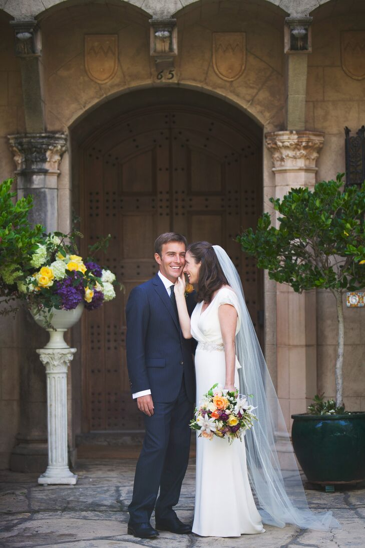 an elegant backyard wedding at a private residence in california