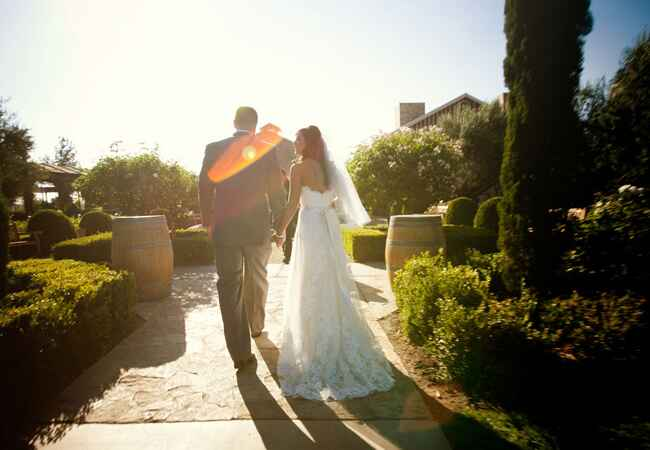 Bride & Groom // John & Joseph Photography // Planner: Details Details // Location: Ponte Winery