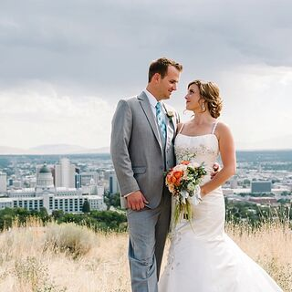 A Whimsical Secret Garden Wedding in Salt Lake City