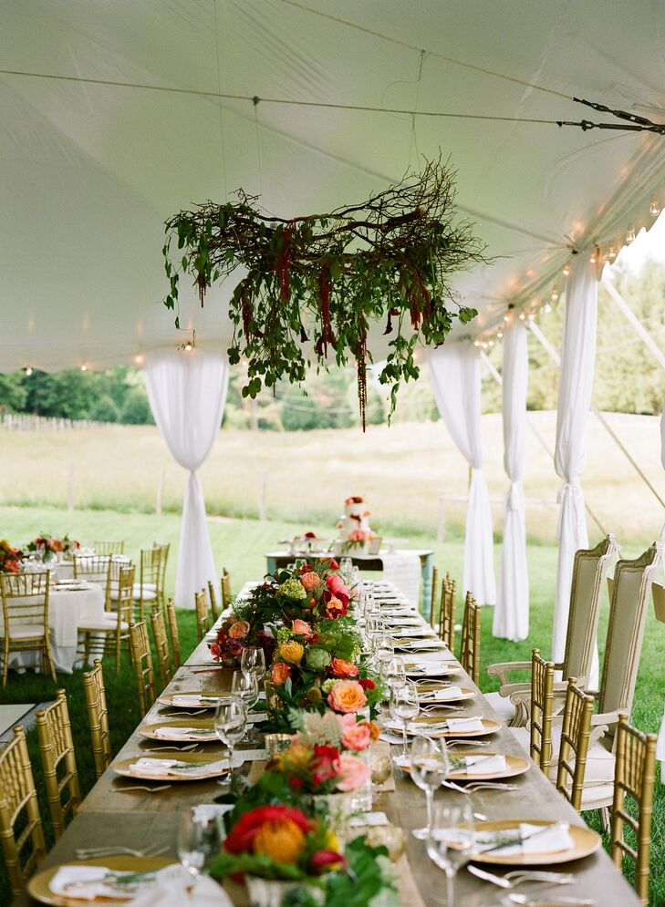 A Chic Outdoor Wedding at the Farmhouse at Persimmon Creek in Clayton Georgia