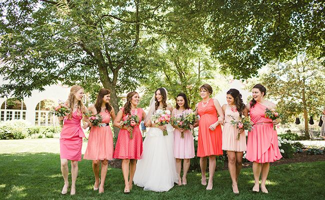 You'll Love the Bright Pink Decor In This Chicago Wedding
