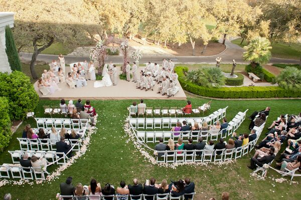 Austin Country Club Outdoor Ceremony