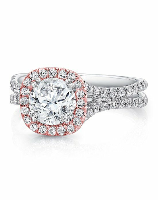 Uneek Fine Jewelry LVS898R-6.5RD Engagement Ring photo
