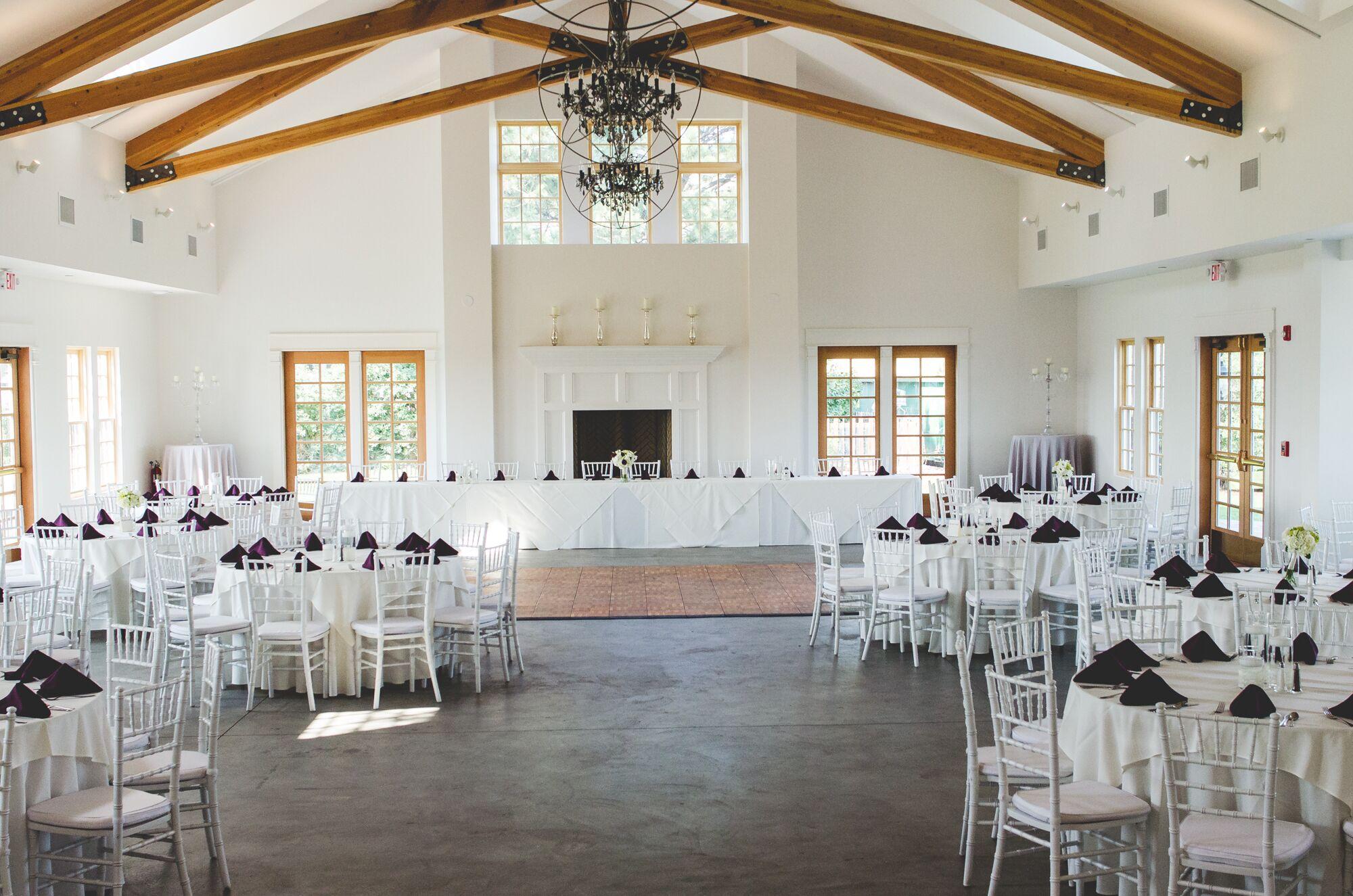 Ballroom Brunch Reception At Manor House