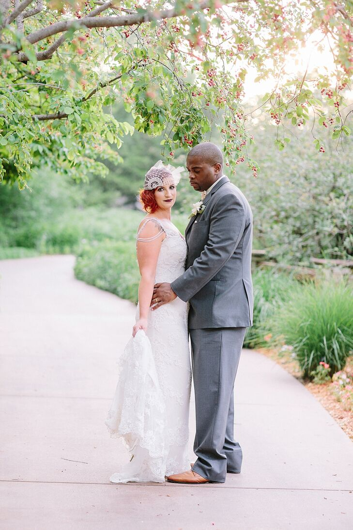 A chic multicultural wedding at botanica gardens in for 3 elements salon wichita ks