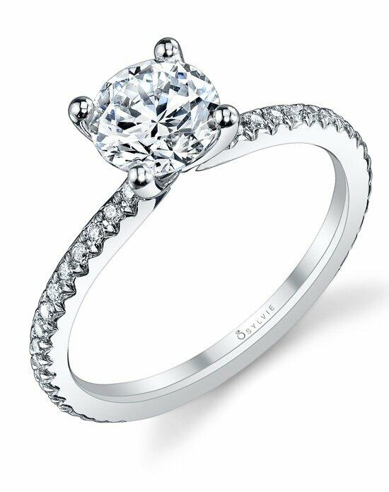 Sylvie Collection S1093 Engagement Ring photo