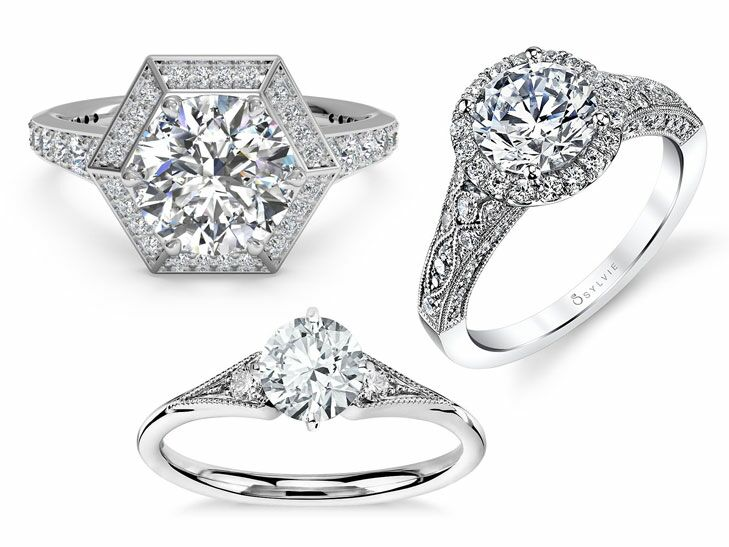 11 Vintage Inspired Engagement Rings Were Obsessed With