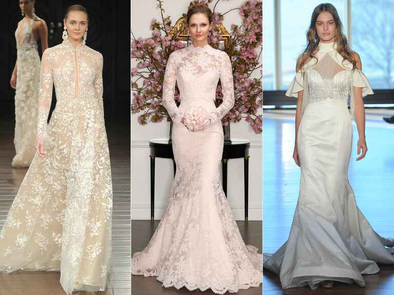 Naeem Khan wedding dress, LEGENDS Romona Keveza wedding dress, Rivini wedding dress