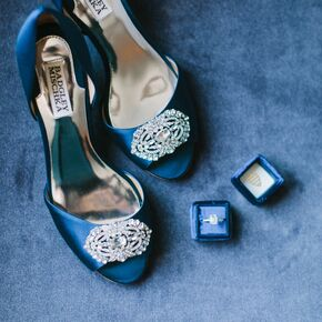 Blue Wedding Heels