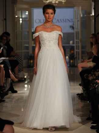 Oleg Cassini Fall 2016 Collection: Bridal Fashion Week Photos