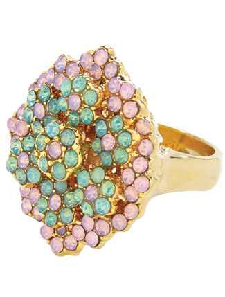 Jeweled Cocktail Ring