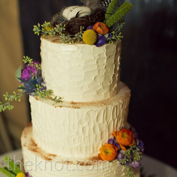 Rustic Garden Wedding Cakes + Desserts
