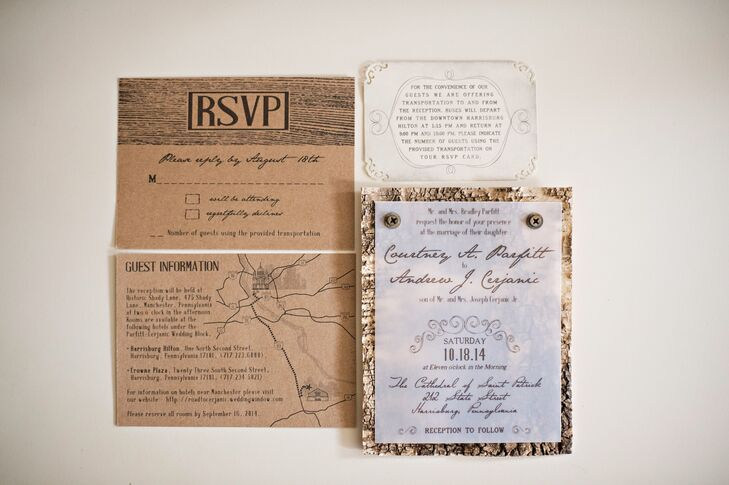 Wedding Invitations Manchester: A Rustic-Chic Wedding At Historic Shady Lane In Manchester