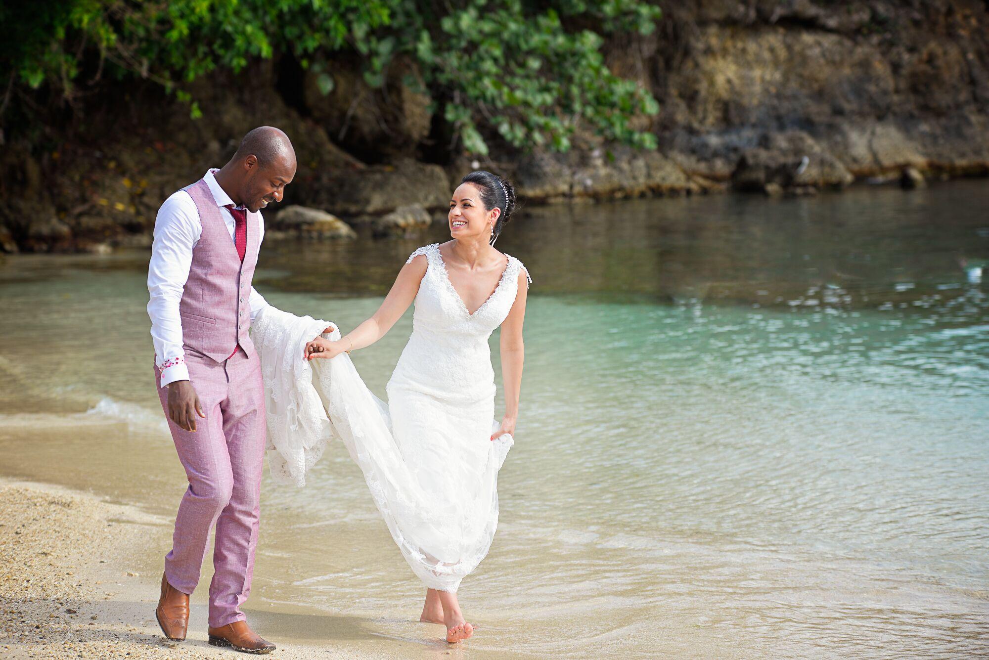 A Beach Inspired Destination Wedding At Grand Palladium Resort Amp Spa In Lucea Jamaica