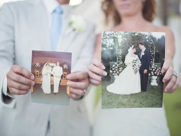 Wedding Gift Ideas For Older Bride And Groom : Old photos of the bride and grooms parents wedding day