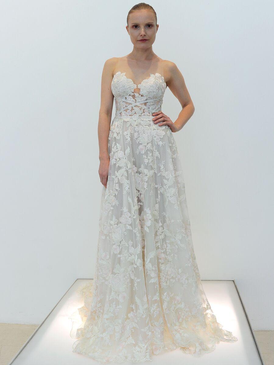 94c3756595c Francesca Miranda Spring 2019 Collection  Bridal Fashion Week Photos