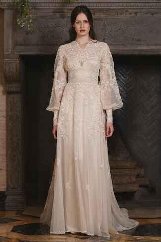 Claire Pettibone Fall 2017 Collection: Bridal Fashion Week ...