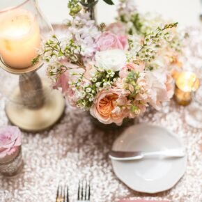 Japanese wedding decorations accents light pink and white floral centerpiece junglespirit Choice Image