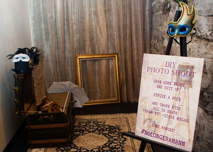 Ring In The Steampunk Decor To Pimp Up Your Home: DIY Vintage Photo Booth