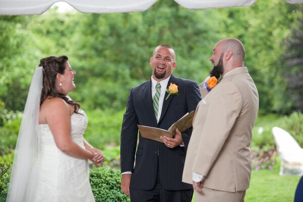 Tented Ceremony at the Lewis Ginter Botanical Gardens