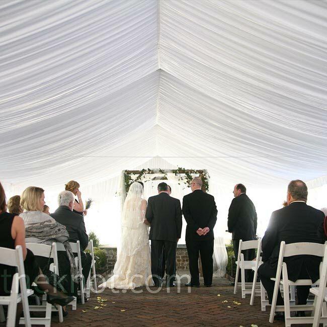 A Tented Wedding In Savannah, GA