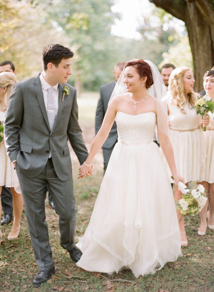 an louisiana state university hilltop arboretum wedding in