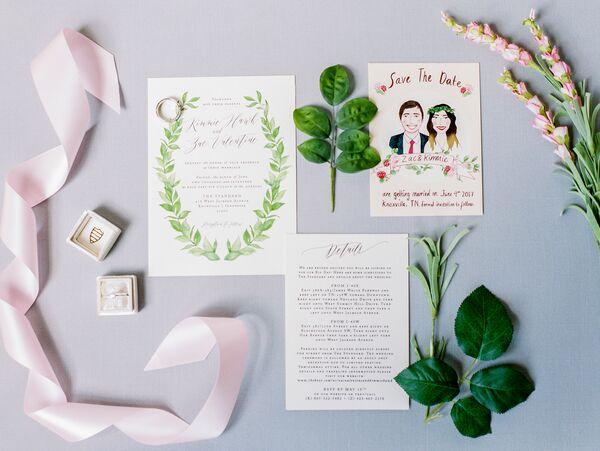 Cootie Catcher Wedding Invitation: Blush And Gold Cootie Catcher Wedding Invitation Suite