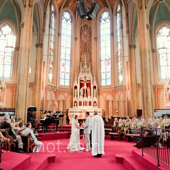 Sts Peter And Paul Catholic Church Wedding