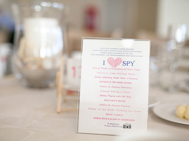 26 wedding games for your reception i spy wedding games m4hsunfo