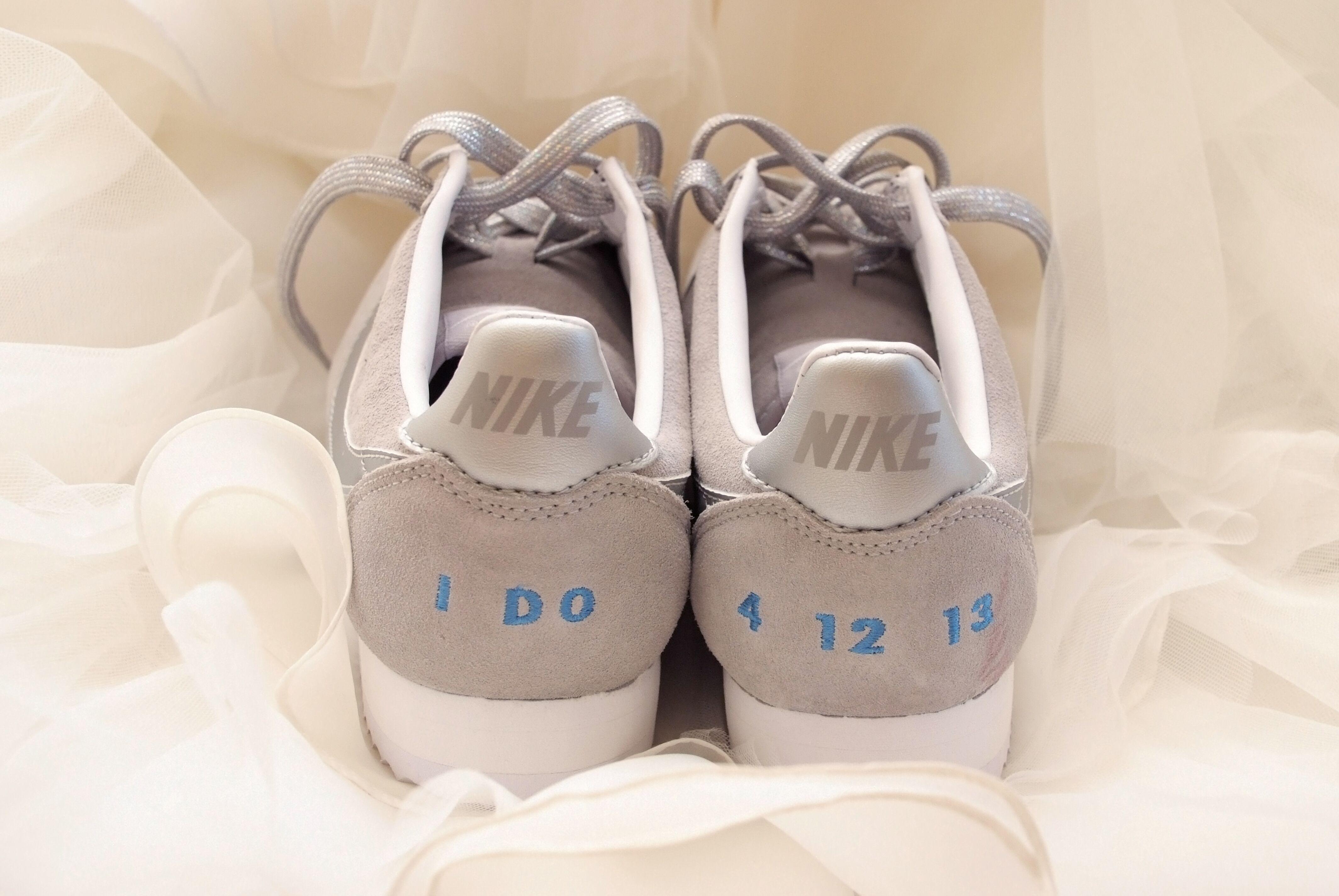 Custom Nike Wedding Shoes