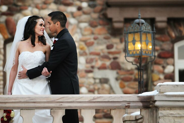 A Clic Red Wedding At Highlands Ranch Mansion In Colorado