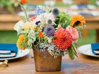 Wedding centerpiece styles and ideas