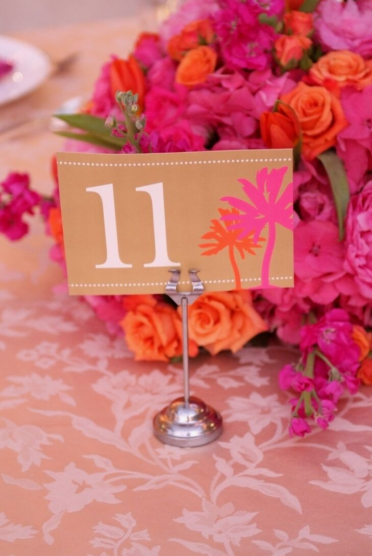 A Bright Pink and Orange Wedding at the Ritz-Carlton, Naples in ...