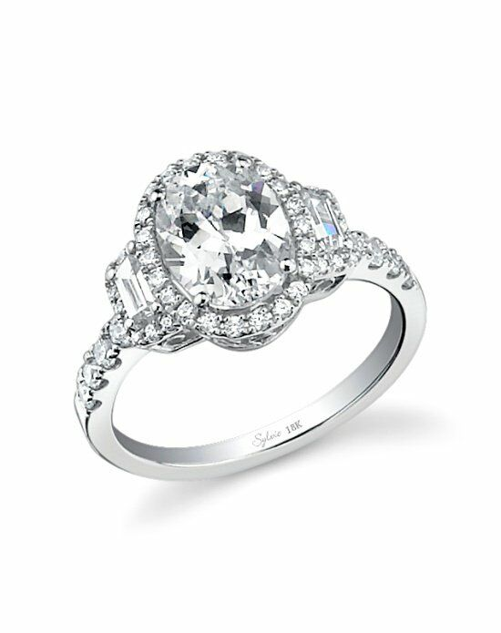 Sylvie Collection SY596 Engagement Ring photo
