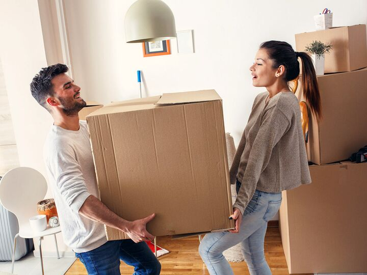What It's Actually Like To Move In Together, According To