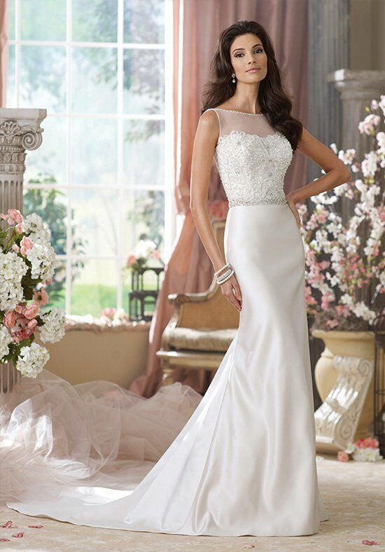 David Tutera for Mon Cheri 214205 Peggy Wedding Dress photo