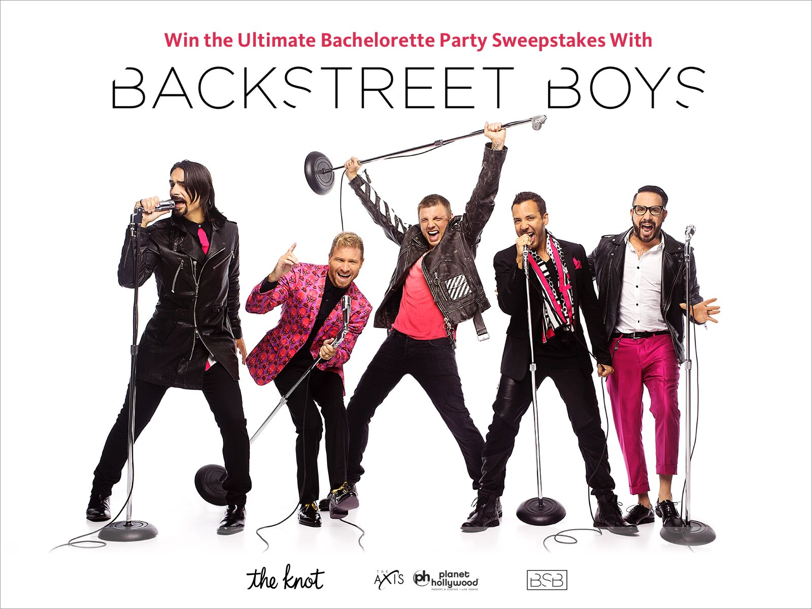 Here's the chance for you and five of your friends to meet the Backstreet Boys in Las Vegas!