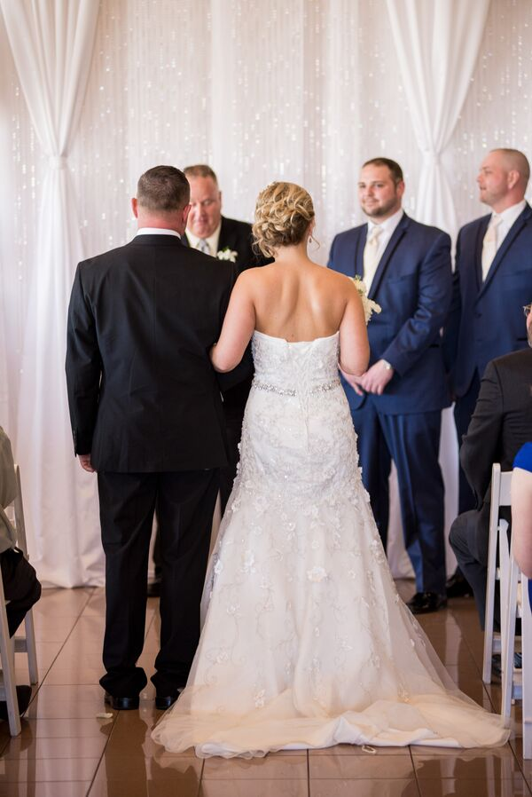 Wedding Processional at Odyssey Country Club
