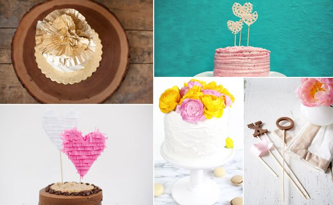 9 DIY Cake Toppers That You Can Make In An Hour
