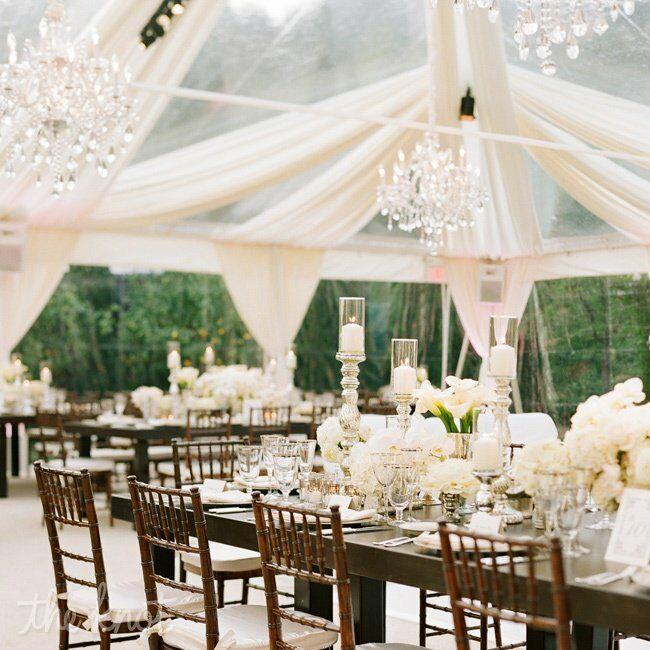 Outdoor Wedding Reception Ideas: Romantic Ambiance