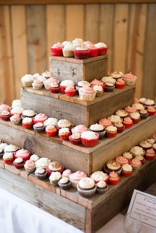 Diy Wooden Stands ~ Diy barn wood cupcake stand dessert table