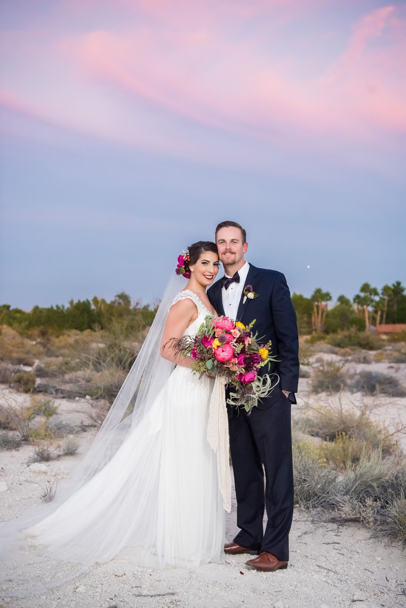 A Bohemian Desert Wedding At Springs Preserve In Las Vegas